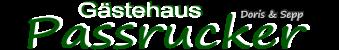 Gästehaus Passrucker